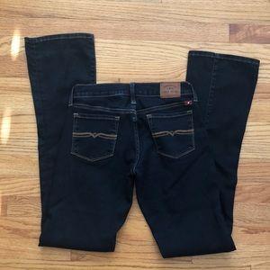 Lucky Brand Dark Wash Charlie Baby Boot Jeans